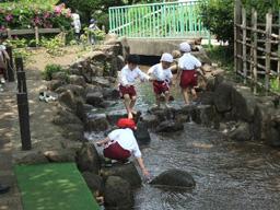 年少遠足:萩中公園