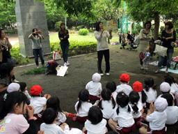 年少遠足:萩中公園 紙芝居